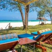 Boutique Hotel private garden facing Diani Beach