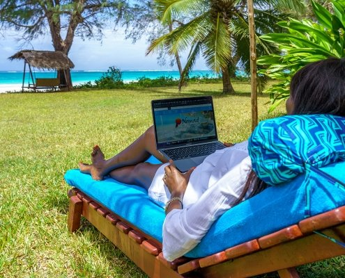 Take a workation at Diani Beach