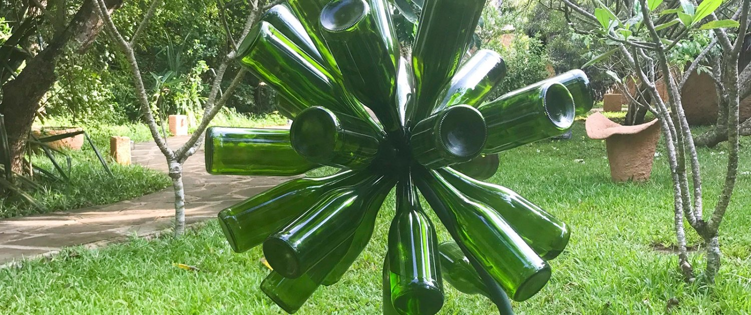 Upcycle - thinking green at boutique hotel on Diani Beach