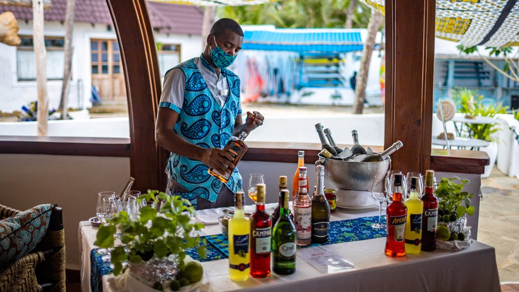 The Nomad Sessions' pop up bar